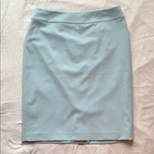 Nine West Powder Blue Pencil Skirt